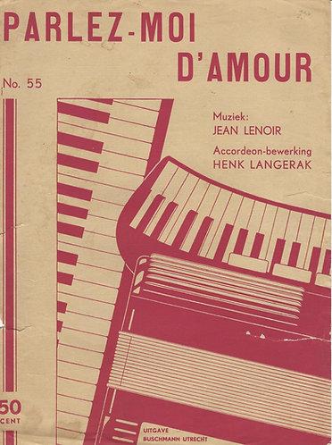 Jean Lenoir | Parlez Moi D'Amour | Accordion
