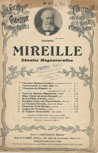 Ch. Gounod | Mireille | Chanson | Duet