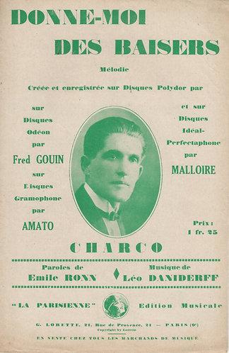 Charco | Leo Daniderff | Donne Moi Des Baisers | Chant | Vocals