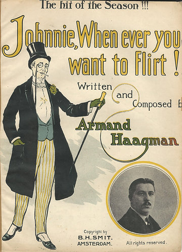 Armand Haagman | Johnny When ever you want to Flirt | Piano | Vocals