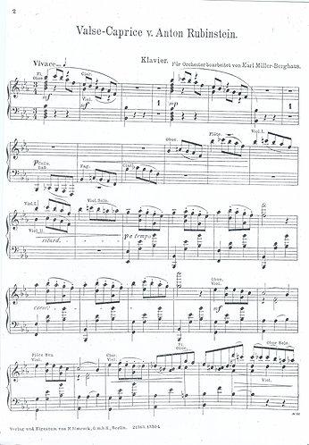 Anton Rubinstein | Valse Caprice | Orchestra