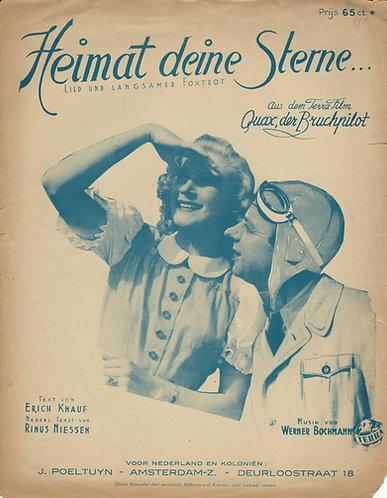 Heinz Ruhmann   Werner Bochmann   Heimat deine Sterne   Piano   Vocals