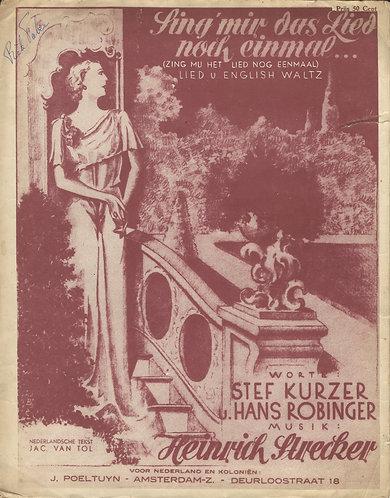 Heinrich Strecker | Sing mir das Lied noch einmal  | Piano | Vocals
