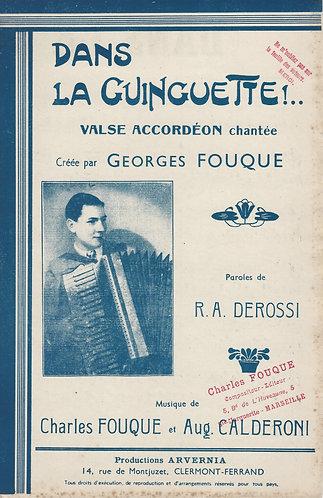 Ch. Fouque | Auguste Calderoni | Dans la Guinguette | Combo
