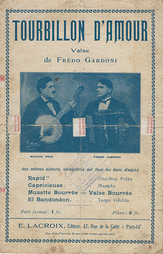 Fredo Gardoni | Tourbillon d'Amour | Accordeon