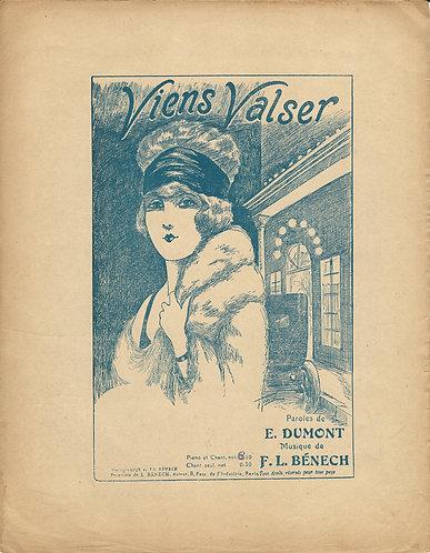 F.L. Benech | E. Dumont | Viens Valser | Piano | Vocal