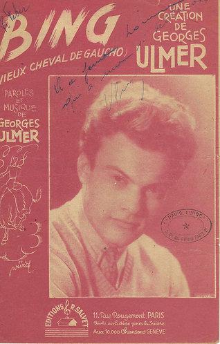Georges Ulmer | Bing | Vocals