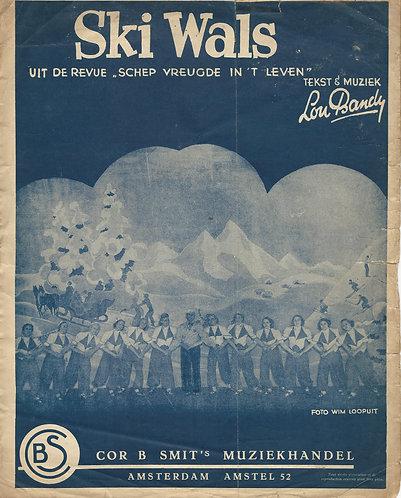 Lou Bandy | Ski Wals | Piano | Vocals