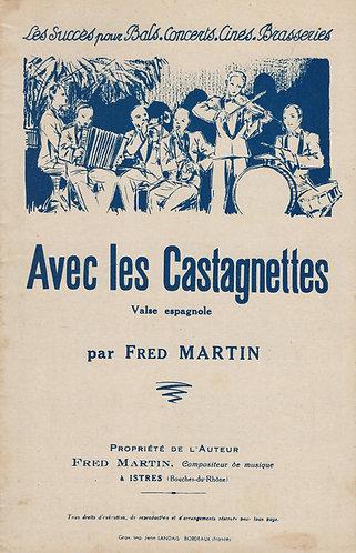 Fred Martin | Avec les Castagnettes | Piano | Accordion