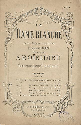 F.A. Boieldieu | Viens Gentille Dame | Vocals