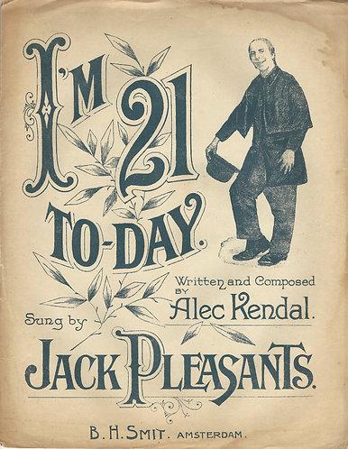 Alec Kendal | Jack Pleasants | I'm 21 today | Piano | Vocals