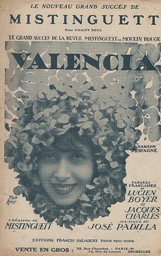 Jose Padilla | Mistinguett | Valencia | Chanson