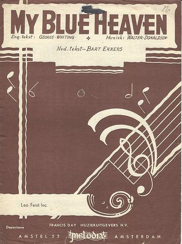 Walter Donaldson | My Blue Heaven | Piano | Vocals