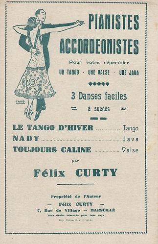 Felix Curty | Le Tango d'Hiver | Accordion | Violin