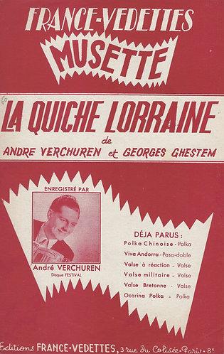 Andre Verchuren   Georges Ghestem   La Quiche Lorraine   Accordeon   Piano