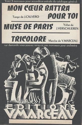 V. Marceau | Tricolore | Accordeon
