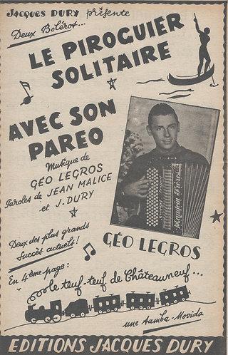 Geo Legros | Le piroguier soloitaire | Accordion | Vocals