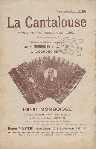 Henri Momboisse | Laurant Halet | La Cantalouse | Piano | Accordion