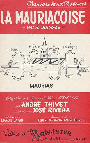 Albert Tartarin | Andre Thivet | La Mauriacoise | Accordion