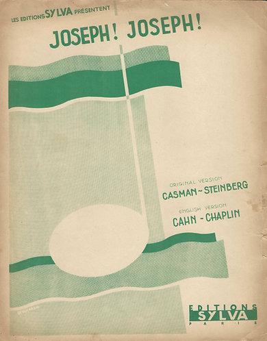 Casman-Steinberg   Cahn-Chaplin   Oh Joseph! Joseph!   Piano   Vocals