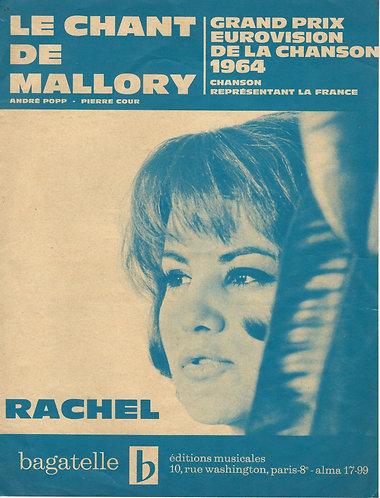 Rachel | Andre Popp | Le chant de Mallory | Chanson