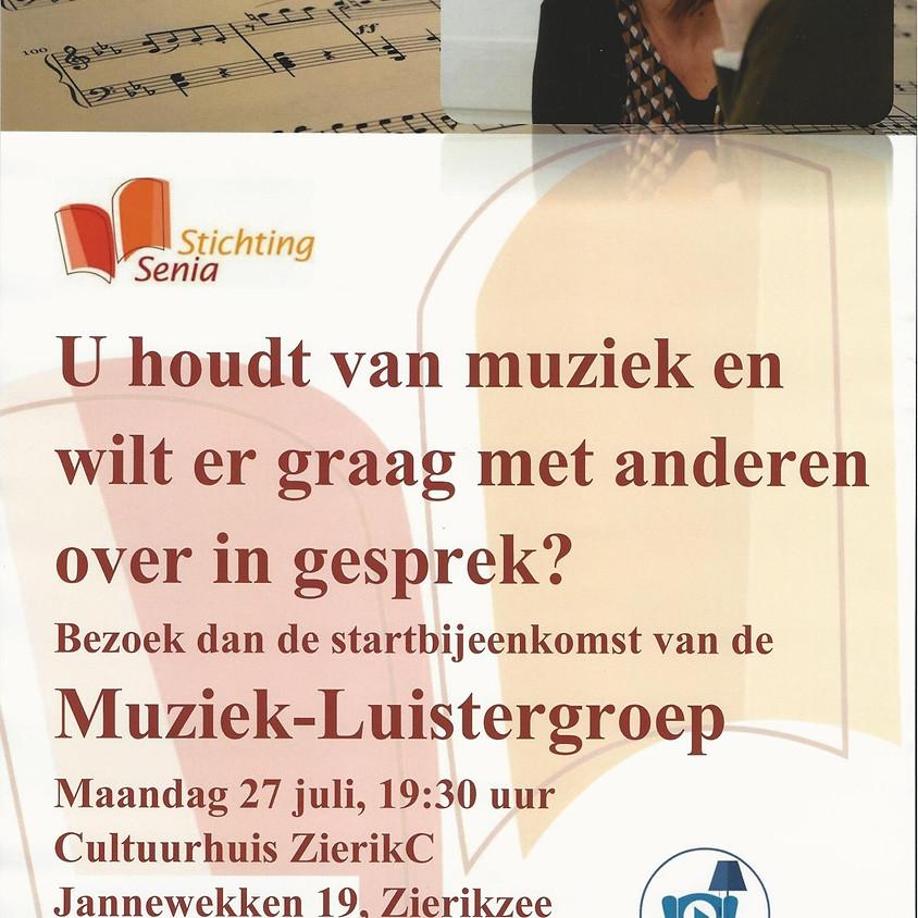 Informatie bijeenkomst muziek- en luistergroep Stichting Senia