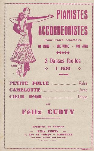 Felix Curty | Harlind | Accordion | Violin