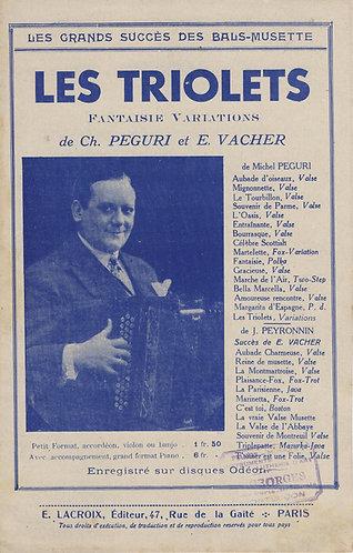 Emile Vacher | Jean Peyronnin | Les Triolets | Accordion