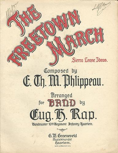 E. Phlippeau | The Freetown March | Piano