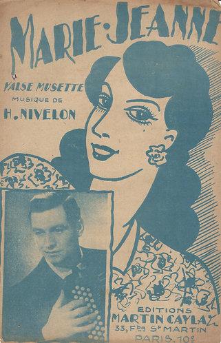 H. Nivelon | Marie Jeanne | Accordeon