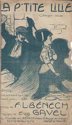F.L. Benech   Eugene Gavel   La p'tite Lilie   Chanson