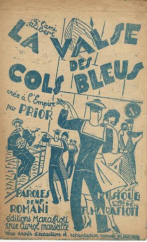 F. Marafioti | La valse des cols bleus  | Chanson