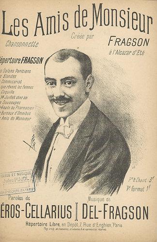 Henri Fragson | Les Amis de Monsieur | Chanson | Vocals