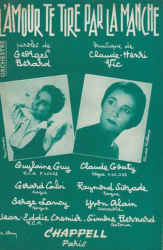 Claude-Henry Vic | L'Amour te tire par la manche | Piano | Vocals