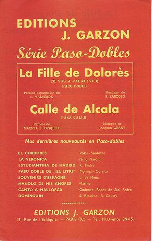R. Zarzozo | La fille de Dolores | Piano