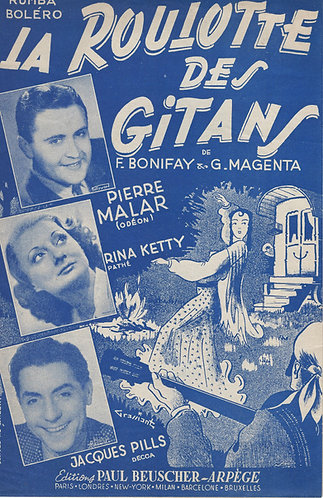 Rina Ketty   Guy Magenta   La Roulotte des Gitans   Chanson