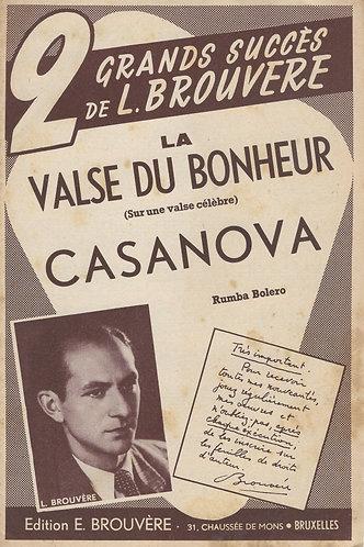 L. Brouvere | La Valse du Bonheur | Accordeon | Violin
