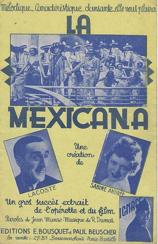 Roger Dumas | La Mexicana | Chanson