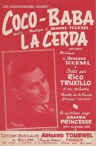 Armand Tournel | La Cerda | Accordion | Violin