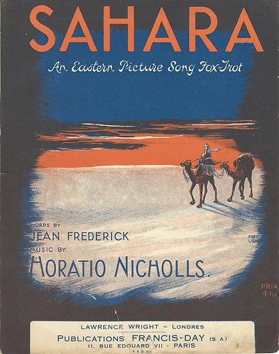 Horatio Nicholls | Sahara | Piano | Vocals