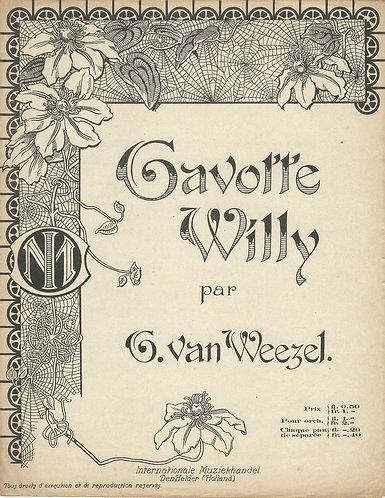 Gerrit van Weezel | Gavotte Willy | Piano