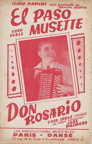 Jose Primero | Don Rosario | Piano
