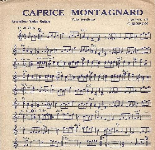 G. Besson   Emile Prud'homme   Caprice Montagnard   Combo