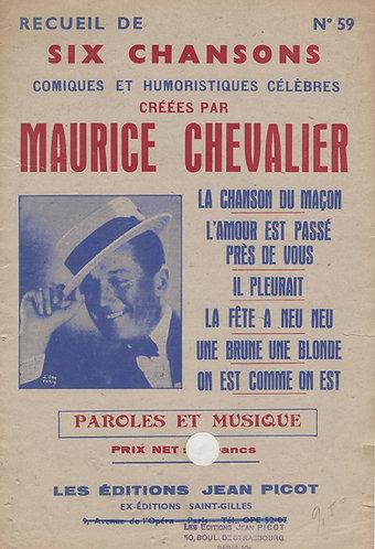 Maurice Chevalier | Henri Betti | La chanson du macon | Chanson