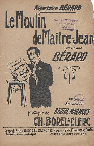 Ch. Borel-Clerc | Le Moulin de Maitre Jean | Chanson