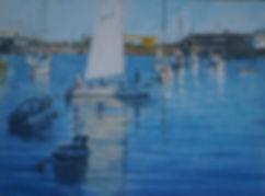 Colin Allbrook. Harbour light.jpeg