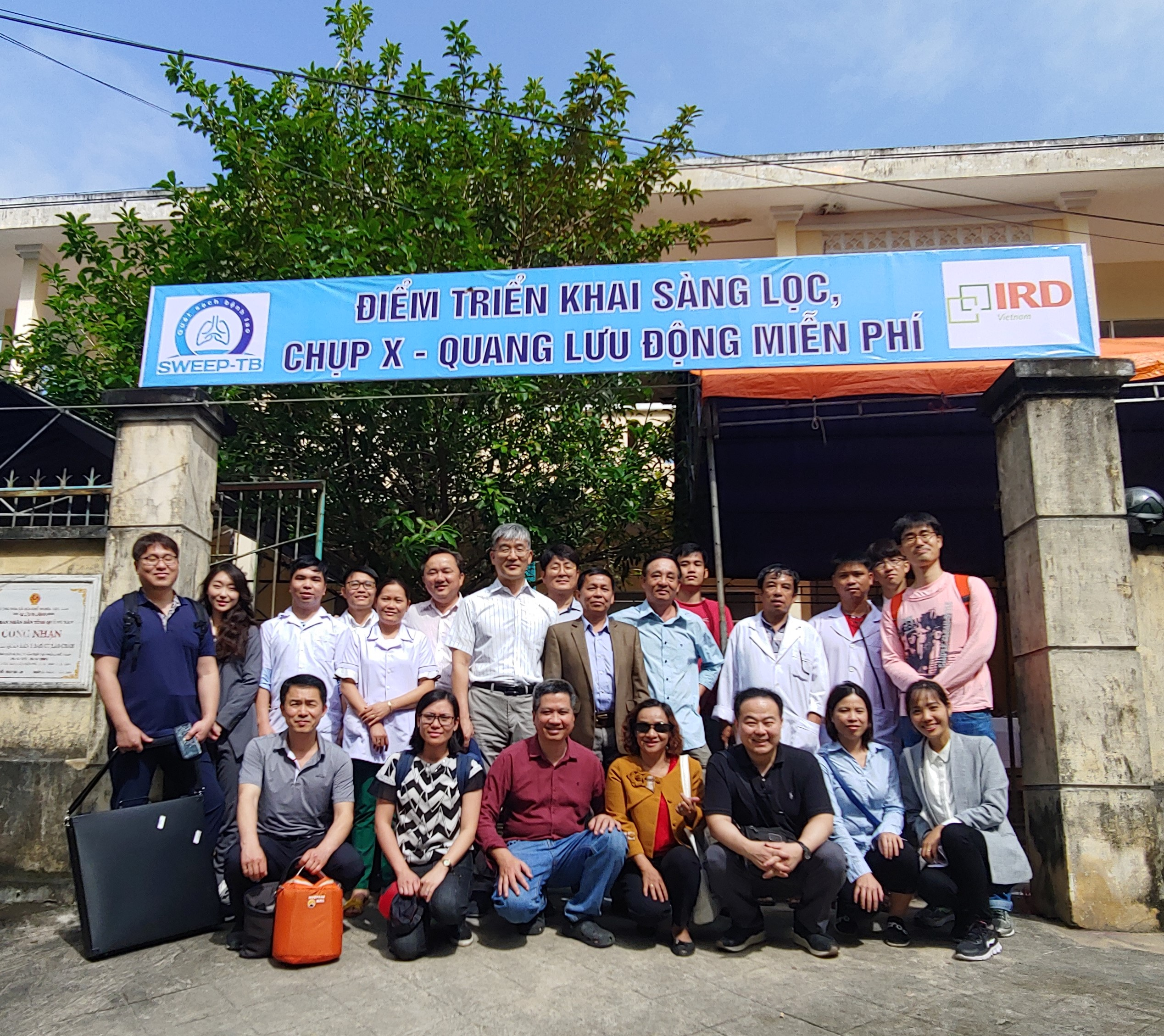 HDT joins FIT in the Cham Islands for Screening TB