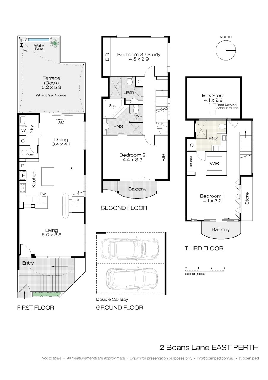 2 Boans lane Floor plan