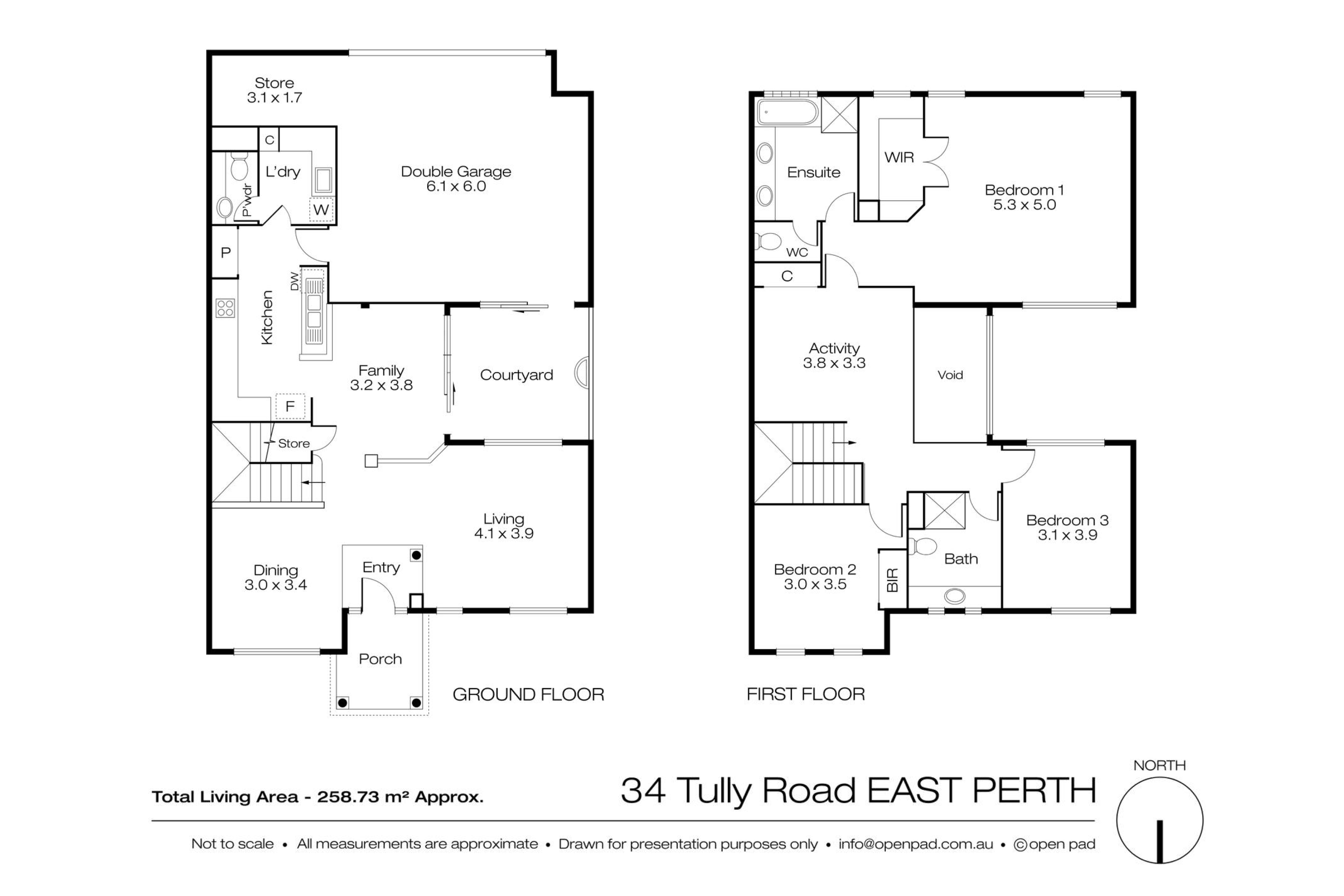 34 Tully Road East Perth Map