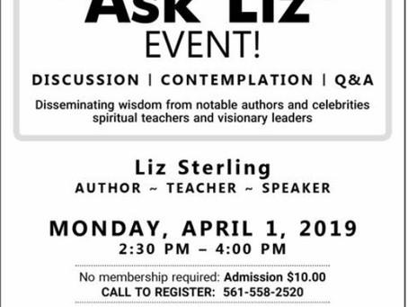 Make Life Matter Now! Ask Liz Live